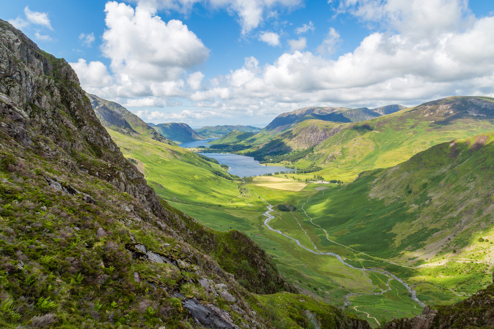 Buttermere and Warnscale Bottom from Green Crag