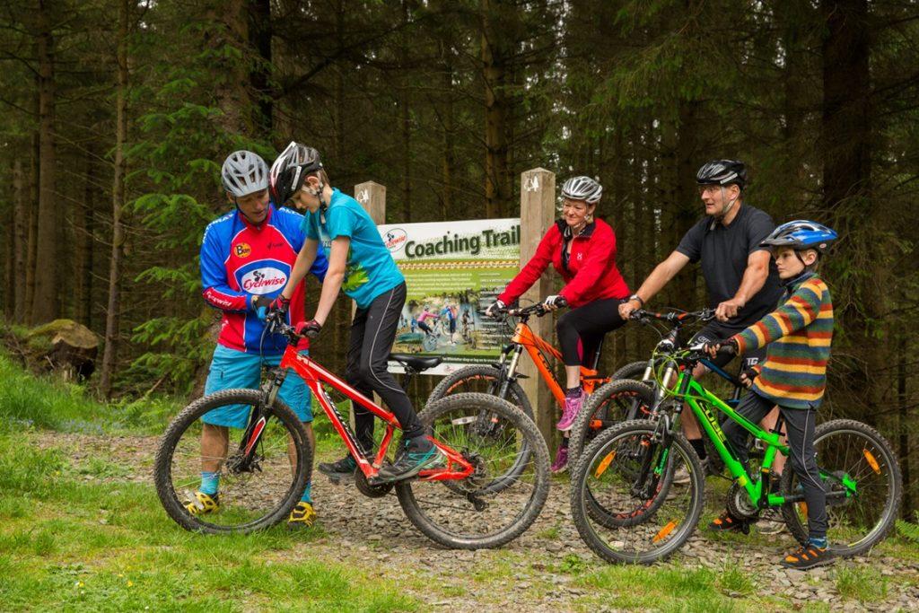 Cycle hire at Whinlatter, Keswick