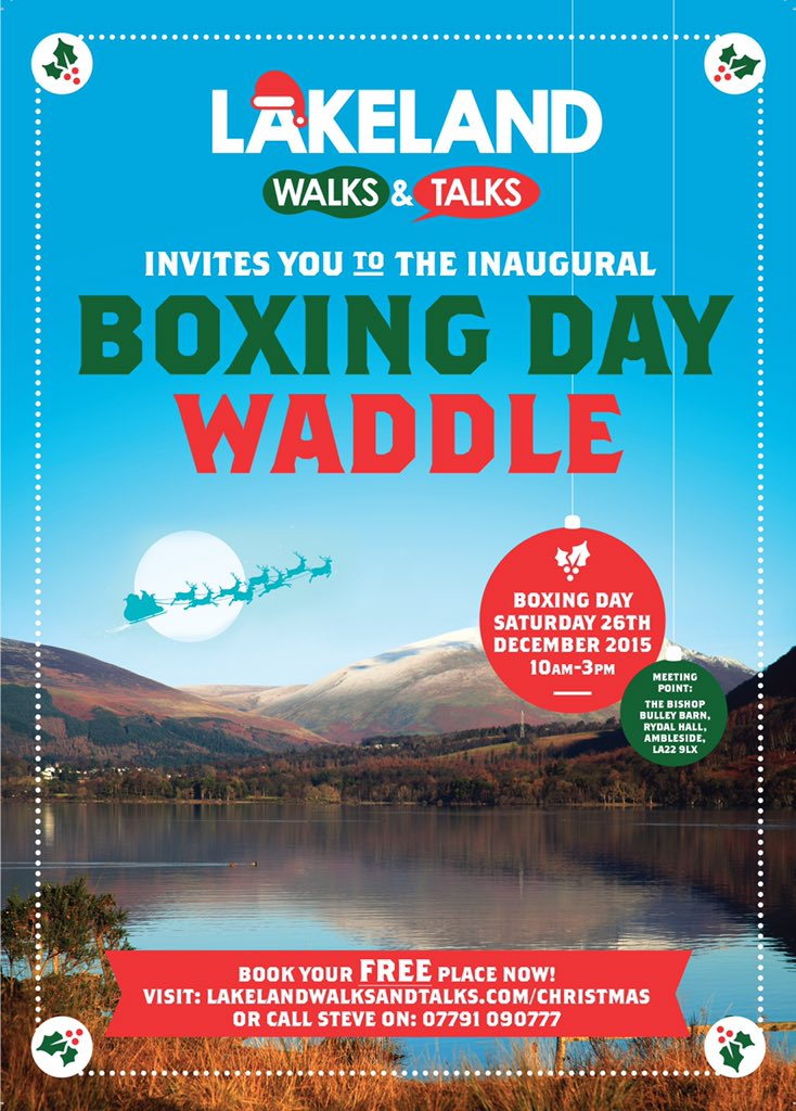 Boxing Day Waddle