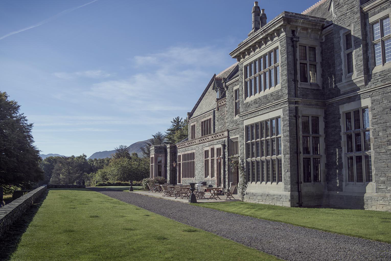 The Lingholm Estate House