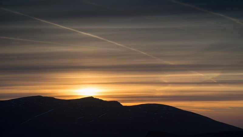 Blencathra dawn sky ©Terry Abraham