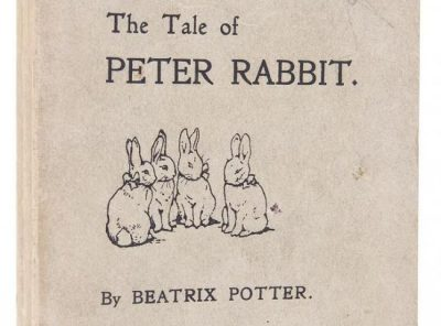 Dreweatts and Bloomsbury Auctions is hosting a Beatrix Potter collection auction on the 150th anniversary of the author's birthday on July 28. Pictured is Beatrix Potter's iconic work, The Tale of Peter. The estimate is £25,000 to £35,000.