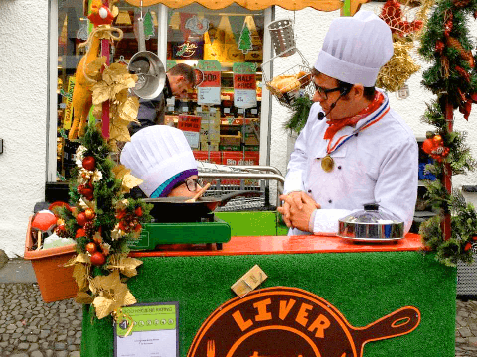 Hawkshead Christmas Fair Cookery Show