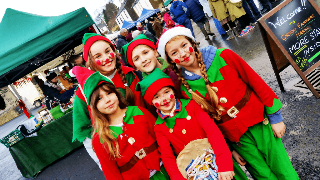 Orton Farmers Market - Christmas Elves
