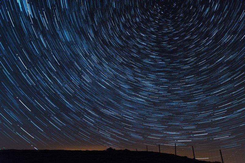 Star Trails Jenkin Hill ©Terry Abraham