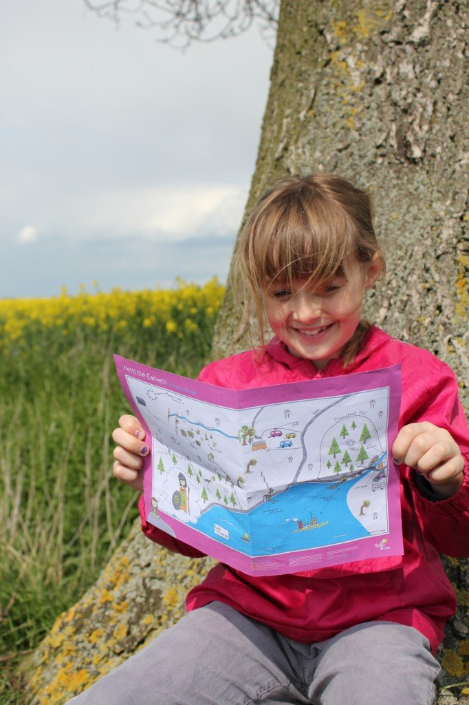 Tale Trails, story walks for kids