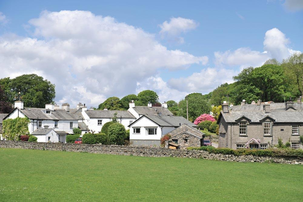 Meadowside Cottage, Near Sawrey - enjoy views to The Tower Bank Arms, featured in The Tales Of Jemima Puddleduck, and Potter's own home Hill Top