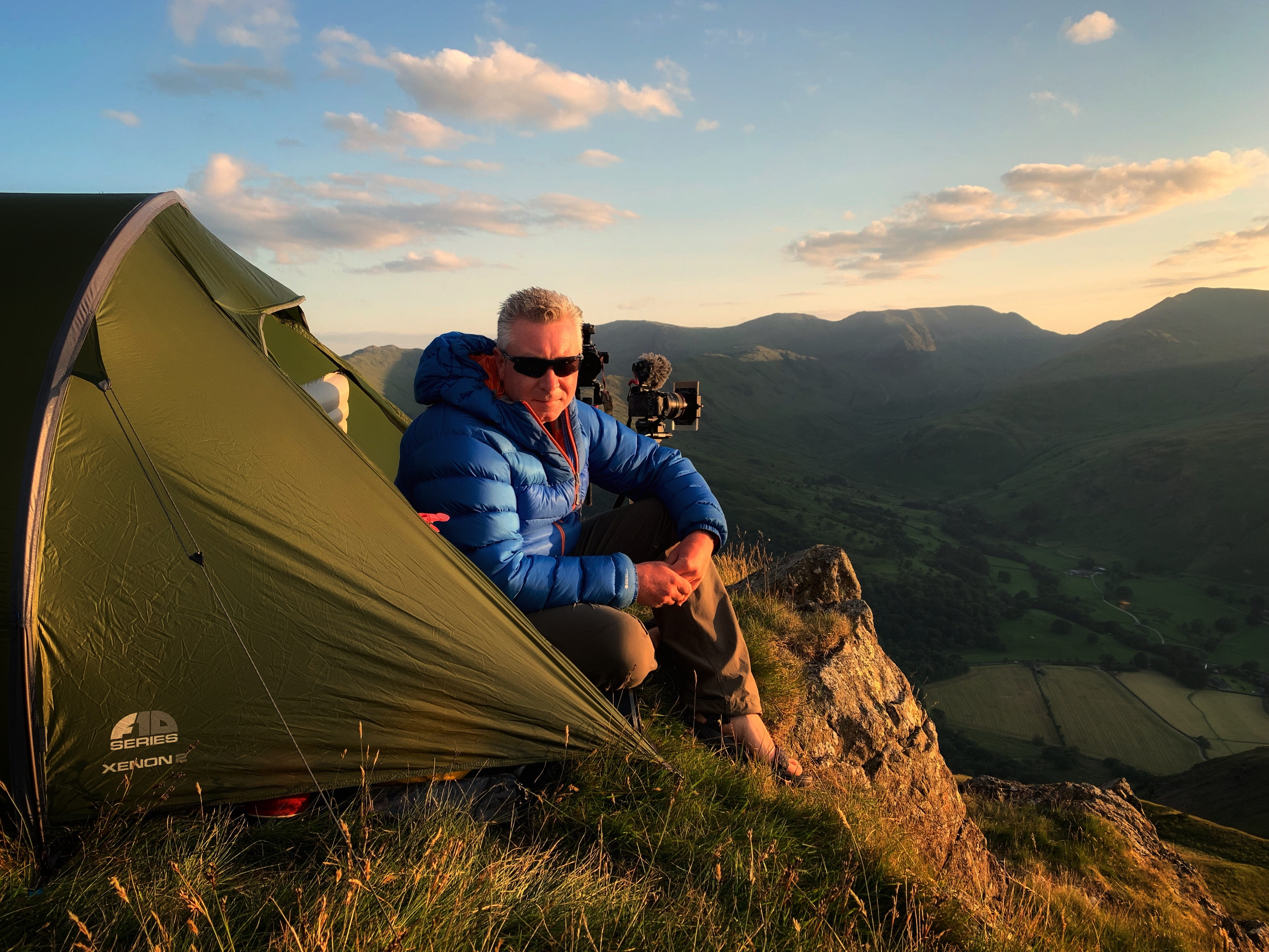 Terry Abraham Wild Camping