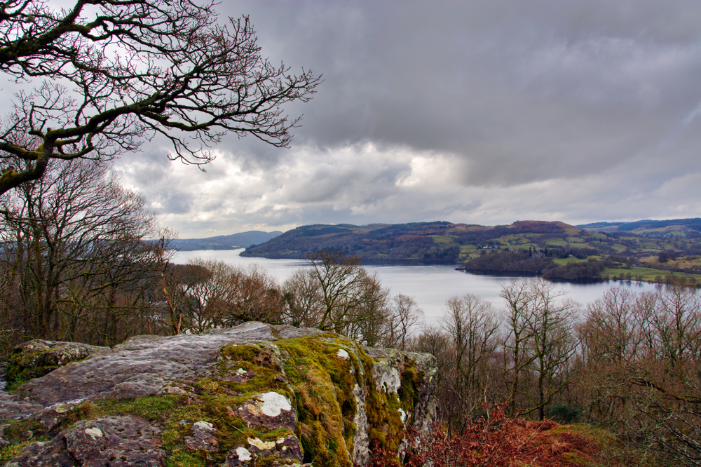 Lake Windermere from Jenkins Crag