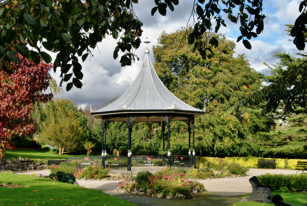 Bandstand, Grange-over-Sands